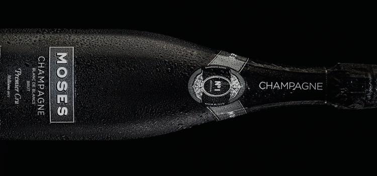 Moses šampanja Bodegas Hablalt.